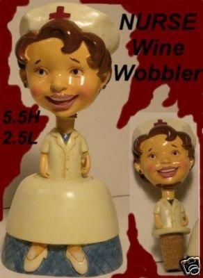 The Nurse Wobble Head Cork Bobble Head