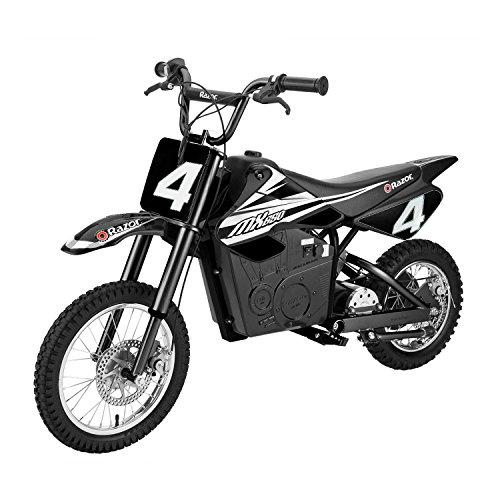 Razor MX650 Electric Dirt Rocket Motor Bike for Kids 12 Black  15165001