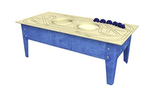 Childbrite Toddler Activity Table with Blue Streak Blue Frame