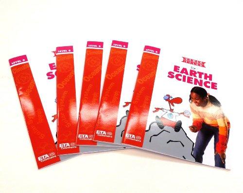 ETA hand2mind VersaTiles Earth Science Grade 5 Activity Book Set of 5