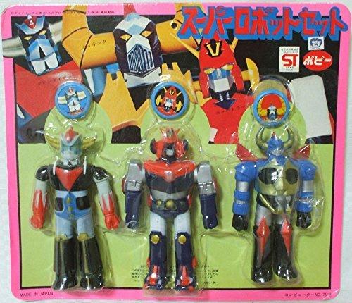 Grendizer Combattler V Gaiking Super Robot set of
