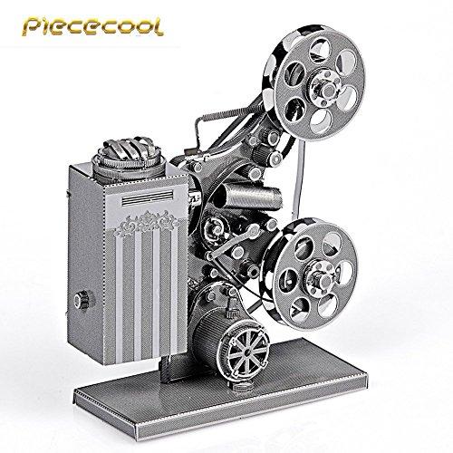 Piececool 3D Metal Puzzle Projector Models P033-S DIY 3D Laser Cut Toys For Audit