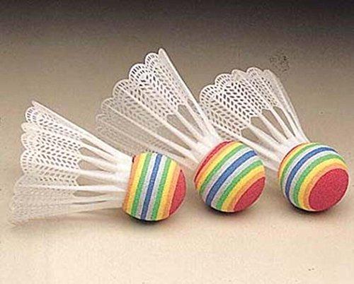 Childrens Fun Outdoor Activity Sports Badminton Game Mini Shuttle Ball Set Of 3