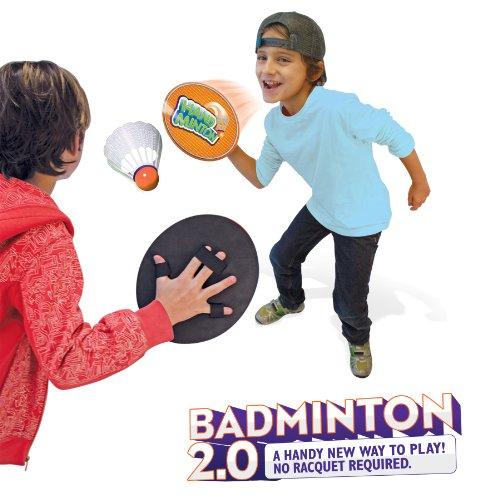 HandMinton Badminton 20 - The Play Anywhere Badminton Game Set for 2 Players