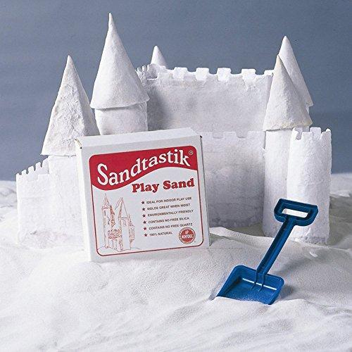 Sandtastik 25-LB-BOX-REG Play Sand White