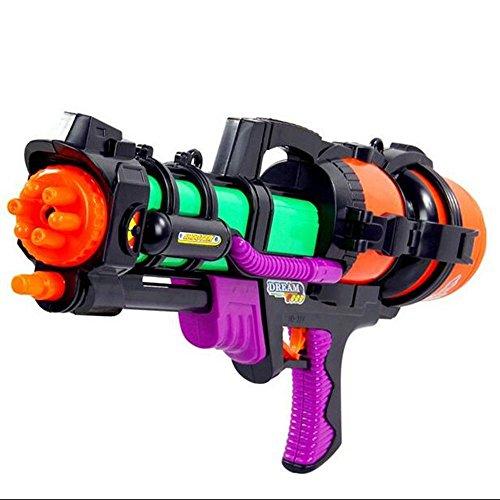 Dongcrystal Water Gun Blaster Soaker Water Pump Toy Water Pistols Colors May Vary