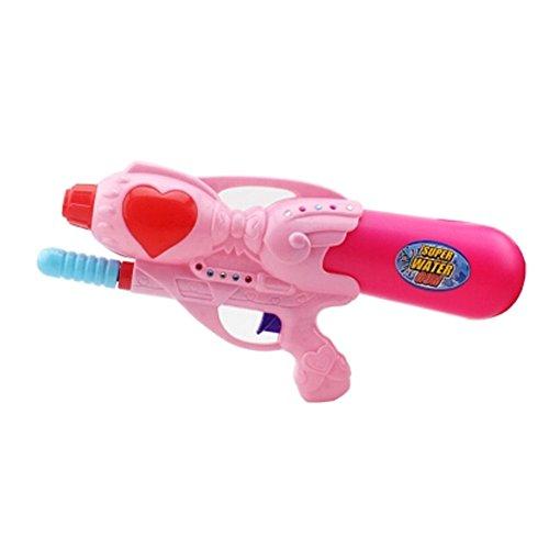Girls Beach Toys Plastic Water Gun Water Pistol Squirt Games Pink