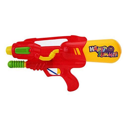 Long-range Plastic Beach Toys Water Pistol Water Gun Squirt Games Red
