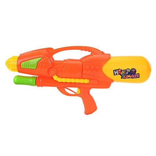Long-range Plastic Squirt Games Beach Toys Water Pistol Water Gun Orange