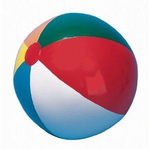Joes USA 24 inch Multi-Colored Beach Ball