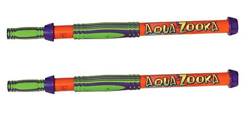 Aqua Zooka 12 Barrel - Super Soaker Water Gun Bazooka 2 Pack