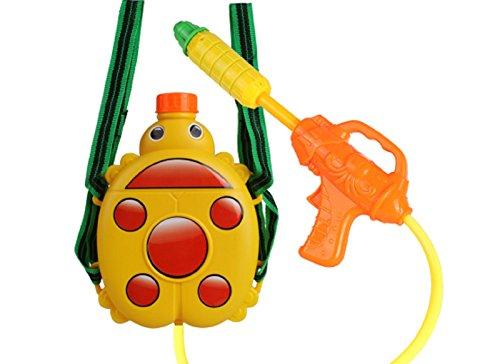 New Kids Cute Ladybird Summer Squirt Super Soaker Water Gun Plastic Backpack ToyAbility Training Interactive toys
