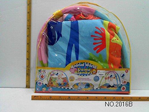 FunsLane Baby Activity and Play Gym Sea Animal Set