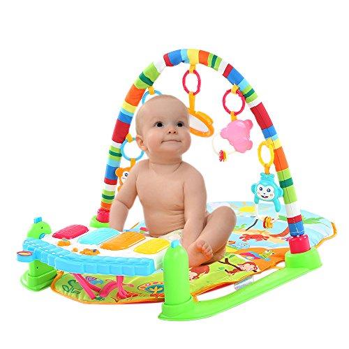 Goolsky Baby Play Piano GymActivity Toys with Flashing Lights