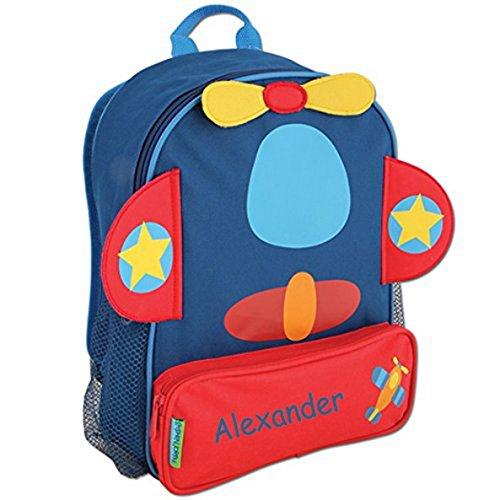 Personalized Flying Airplane Sidekick Backpack - CUSTOM NAME
