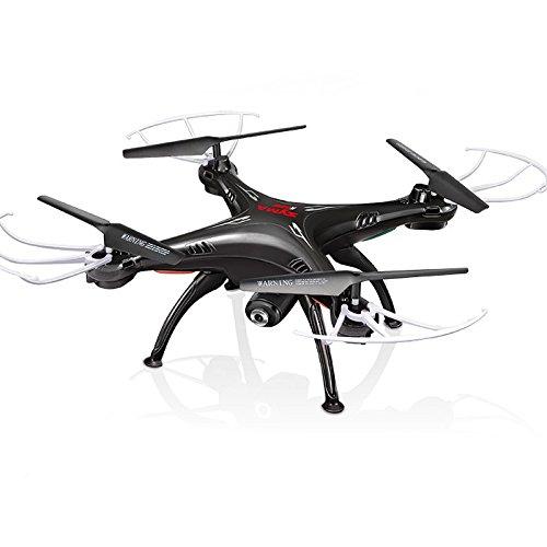 Cheerwing Syma X5SW-V3 FPV 24Ghz 4CH 6-Axis Gyro RC Headless Quadcopter Drone UFO with HD Wifi Camera Black