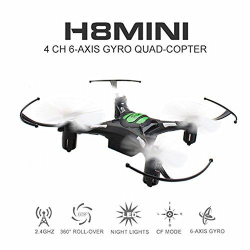 Eachine H8 Mini Quadcopter Drone Headless Mode Remote Control Nano Quadcopter RTF Mode 2 Black
