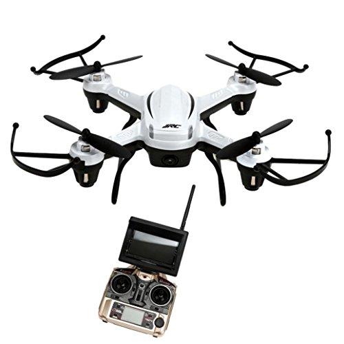 Tiean H32GH 58Ghz FPV 24Gh CF Aerial 6Axis 4CH Quadcopter RTF 2MP Camera Drone White