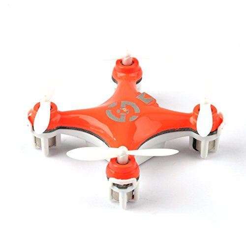 YKS CX-10 Mini RC Quadcopter RTF Drone 24G Remote Control Toys 4CH 6Axis RC Drone RC Helicopters Radio Control Aircraft -Orange