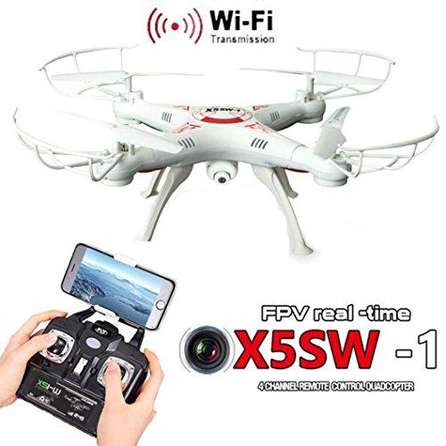 LandFox X5SW-1 Wifi FPV RTF 24G 4CH RC Black Quadcopter Camera Drone With HD Camera UAVWhite