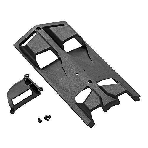 ARRMA AR320346 High Airflow Center Skidplate Set Nero RC Car Part