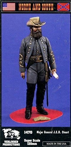Verlinden 120mm Major General JEB Stuart Resin Figure Model Kit 1470