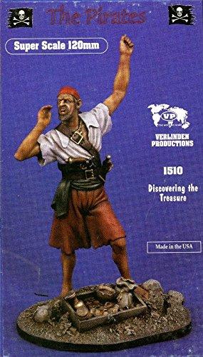 Verlinden 120mm the Pirates Discovering Treasure Resin Figure Model Kit 1510