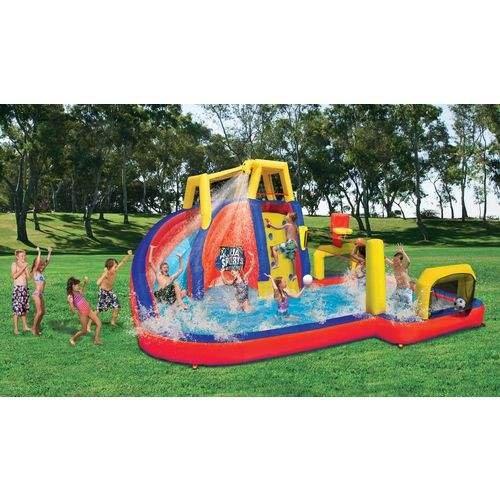 Spring Summer Toys Banzai Aqua Sports Inflatable Water Park