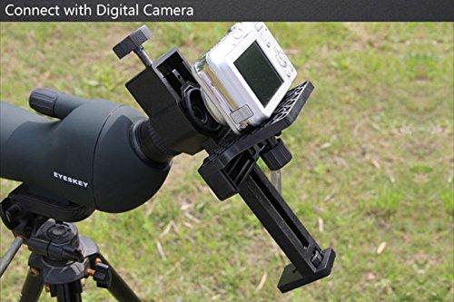 Digital Camera Camcorder Adapter Monocular Telescope Spotting Scope&Microscope