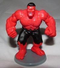 Marvel Miniature Alliance Red Hulk Toy Figurine Cake Topper
