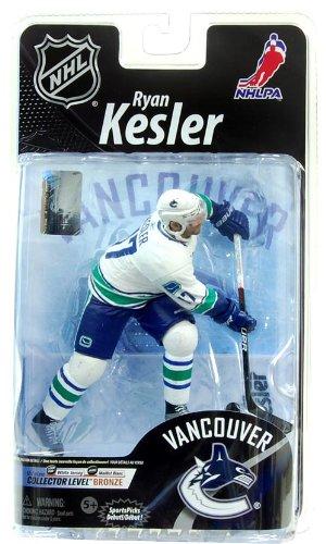 Mcfarlane NHL Figure Ryan Kesler Collector Bronze Variant White Jersey