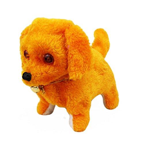 NOMENI Robotic Cute Electronic Walking Pet Dog Puppy Kids Toy With Music Light