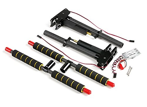 Multi-Rotor Metal and Carbon Retractable Landing Gear with Control Unit for 16mm Mounting Tubes