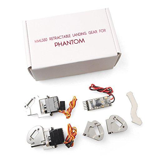 New HML350PRO P3 Phantom 3 Aluminum Automatic Retractable Landing Gear For Phantom3 ProfessinalAdvance By KTOY