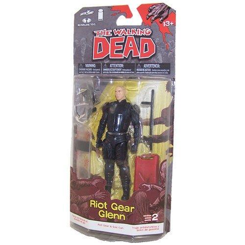 McFarlane Toys Action Figure -The Walking Dead Comic Series 2 -GLENN Riot Gear