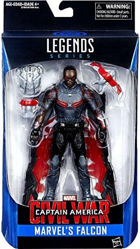 Marvel Legends Captain America Civil War Falcon Exclusive Action Figure 6 Inches