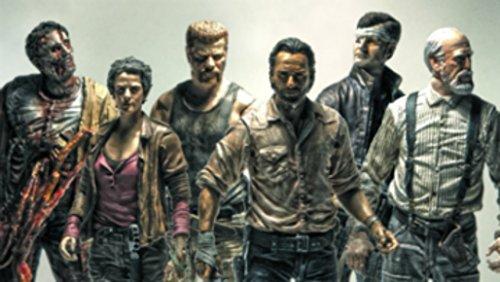 McFarlane Toys The Walking Dead AMC TV Series The Walking Dead TV Series 6 Set of 6 6 Action Figures