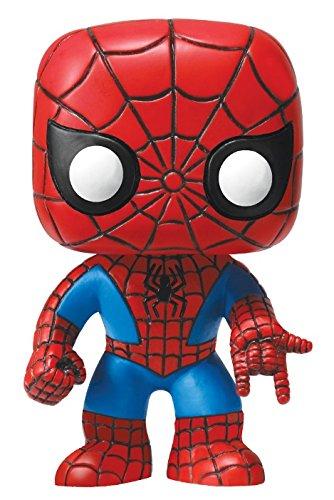 Funko POP Marvel 4 Inch Vinyl Bobble Head Figure - Spider Man