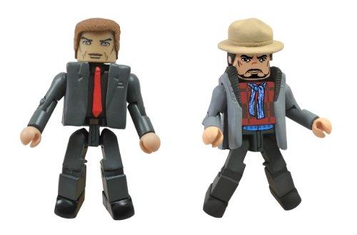 Diamond Select Toys Series 49 Marvel Minimates Iron Man 3 Aldrich Killian and Tony Stark Action Figure