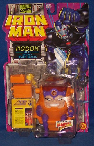 MODOK With Energy Blasts  Marvel Action Hour  1995 Marvel Comics Iron Man Action Figure Accessories