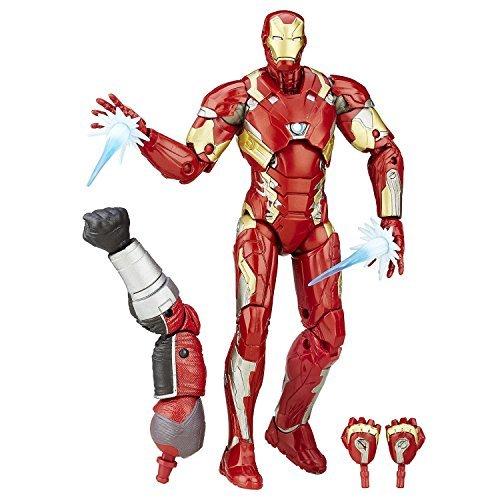 Super Hero Iron Man Mark 46 Figure 6-Inch Hero Series Action Figures Toys