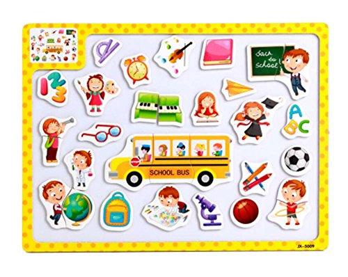 Lovely Creative Kids Infants Puzzles Set Educational Toys Children Puzzles Games