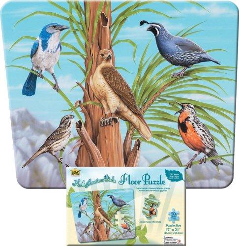 Wild Republic Puzzle StBirds of California 50 Piece Puzzle