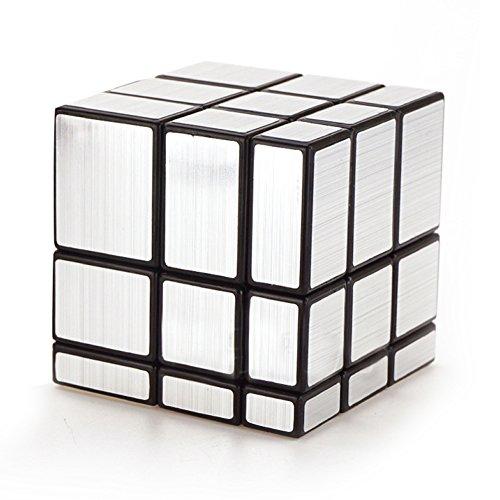 ClothingTalks 3x3x3 Mirror Speed Cube Anti-Pop Magic Rubix Puzzle 57CM224Silver 100 Money Back Guarantee