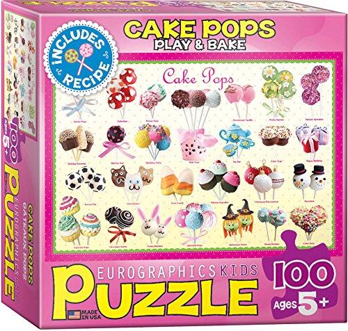 Eurographics Cake Pops Puzzle 100-Piece