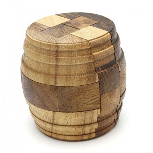 Logic Puzzle Barrel Puzzles Brain Teaser Intellectual Removing Assembling