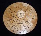 Safecracker 40 wood brain teaser puzzle - math logic puzzle - unique made USA
