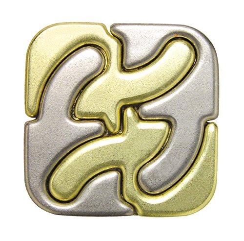 Intellectual three-dimensional puzzle game puzzle cast cast Square japan import