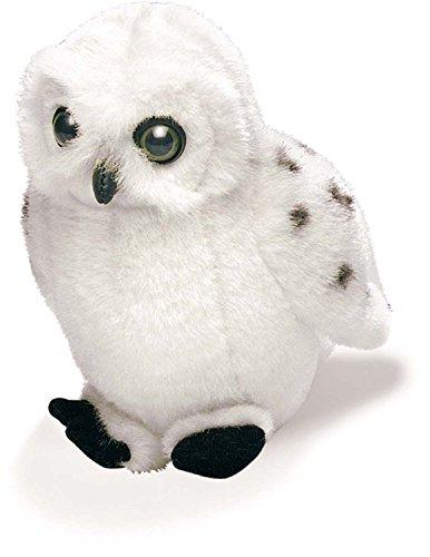 5 Snowy Owl Stuffed Animal with Bird Call Sound