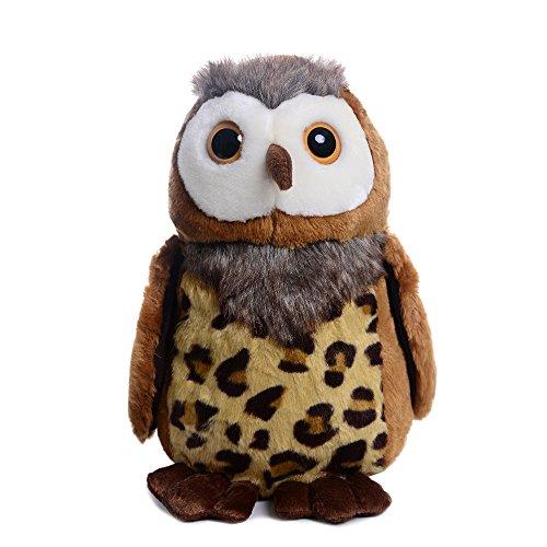 Lazada Realistic Stuffed Brown Owl Wild Animal Plush Dolls 11